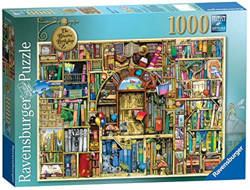 Ravensburger Bizarre Bookshop 2 1000 Piece Jigsaw Puzzle for Adults - Every Piece is Unique, Softclick Technology Means Pieces Fit Together Perfectly ()