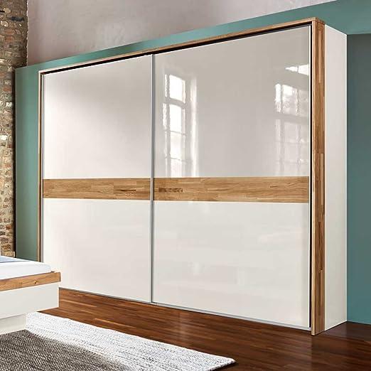 Puertas correderas de armario en colour blanco brillante con ...