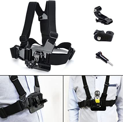Chest Mount Body Harness Pro Adjustable Belt Strap Backpack CB