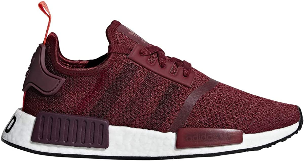 adidas Womens NMD R1 Running Shoes Color Maroon White Gum Black