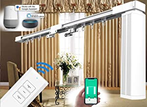 SimpleSmart - Remote Control Electric Curtain Tracks (4M / 158