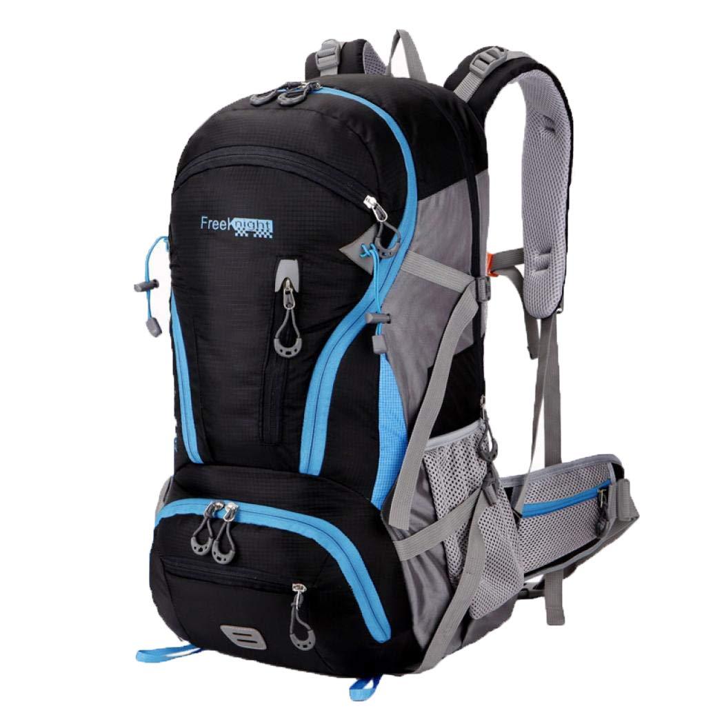 Stimmt ハイキングバックパック 45L 内部フレームバックパック 防水 旅行用デイパック アウトドア ハイキング 旅行 登山用バッグ  ブラック B07HB2YLXG