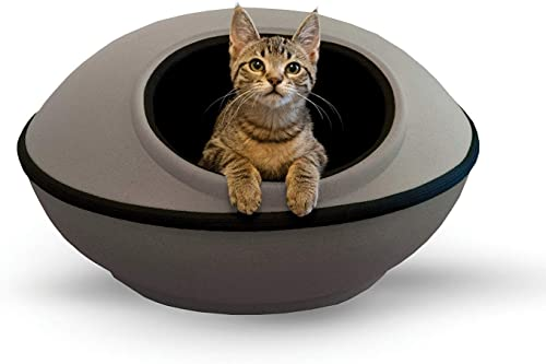 K H PET PRODUCTS Mod Dream Pod Pet Bed, Cat Cave For All Cat Sizes, Heated and Unheated, Multiple Colors