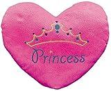 """Princess"" Heart Pillow (with the Princess Embroiding) 13 1/2"