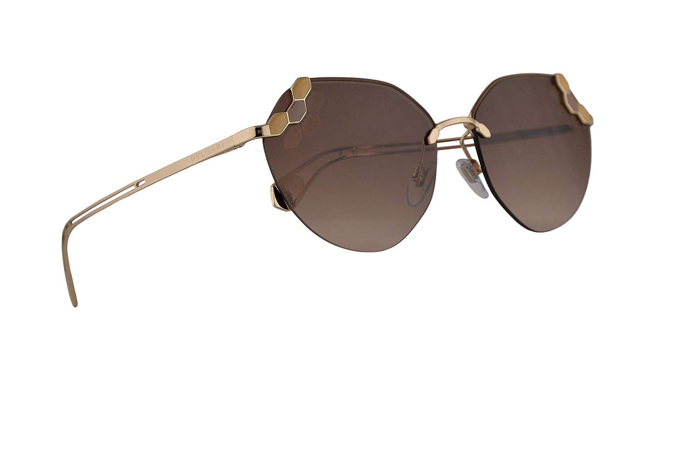 Amazon.com: Bvlgari BV6099 Sunglasses Matte Turtledove Pale ...