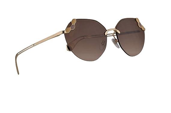 Amazon.com: Bvlgari BV6099 - Gafas de sol, color dorado mate ...