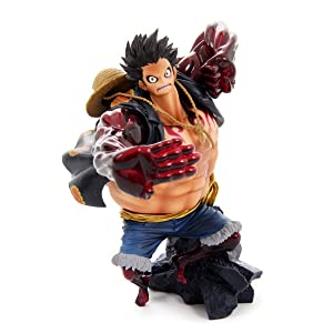 Banpresto One Piece 6.3-Inch Monkey D Luffy Figure, SCultures Big Zoukeio Special, Gear Fourth