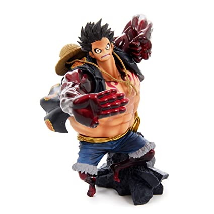 38068808b Buy Banpresto One Piece 6.3- Monkey D Luffy Figure, Scultures Big Zoukeio  Special, Gear Fourth Online at Low Prices in India - Amazon.in