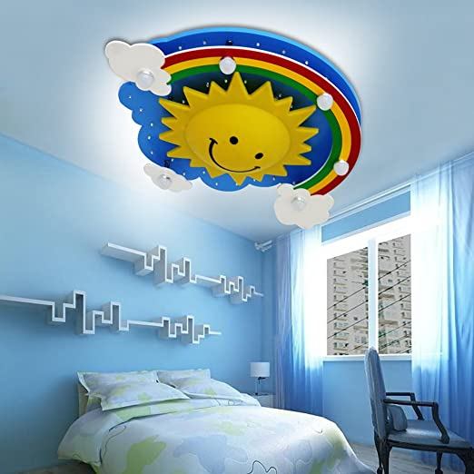 Natsen® LED Rainbow Sun Lamp for Children\'s Bedrooms) 24 W Cool ...