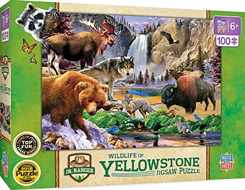Jr Ranger - Yellowstone National Park 100pc Puzzle