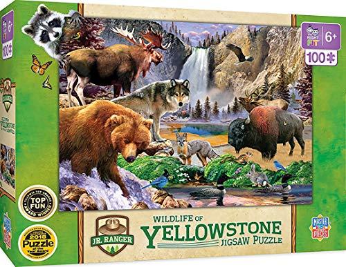 Jr Ranger - Yellowstone National Park 100pc Puzzle