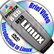 Linux on 8Gb USB Flash and 3-DVDs, Installation and Reference Set, Newest Linux Release 32-bit: CentOS 6 and Kubuntu 17.04