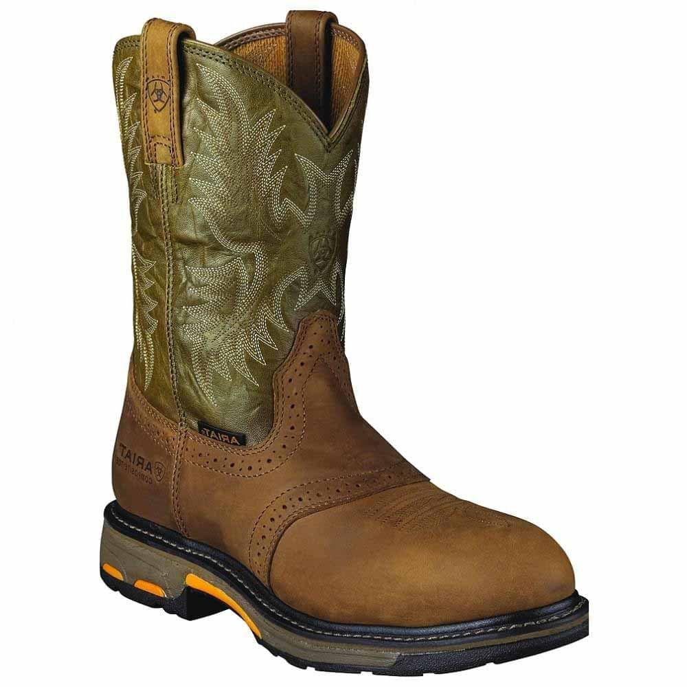 Ariat Men's Workhog Pull-on Composite Toe Work Boot Ariat Work Workhog Pull-On CT