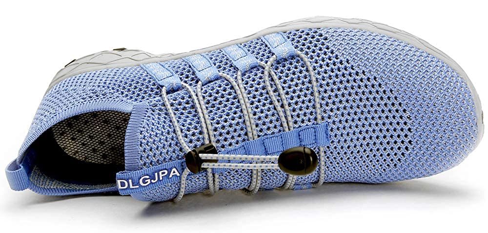 DLGJPA Womens Quick Drying Water Shoes for Beach or Water Sports Lightweight Slip On Walking Shoes