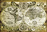 Best The  Posters - Posters: Historical Maps Poster - World Map Review