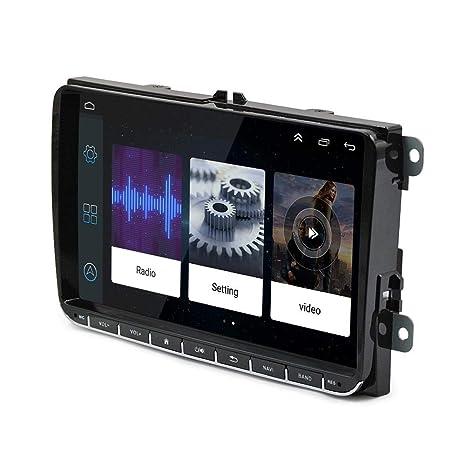 hifuture Navegación GPS para Automóvil 9 Pulgadas Android 8.1 VW Volkswagen Skoda Golf 5 Golf 6