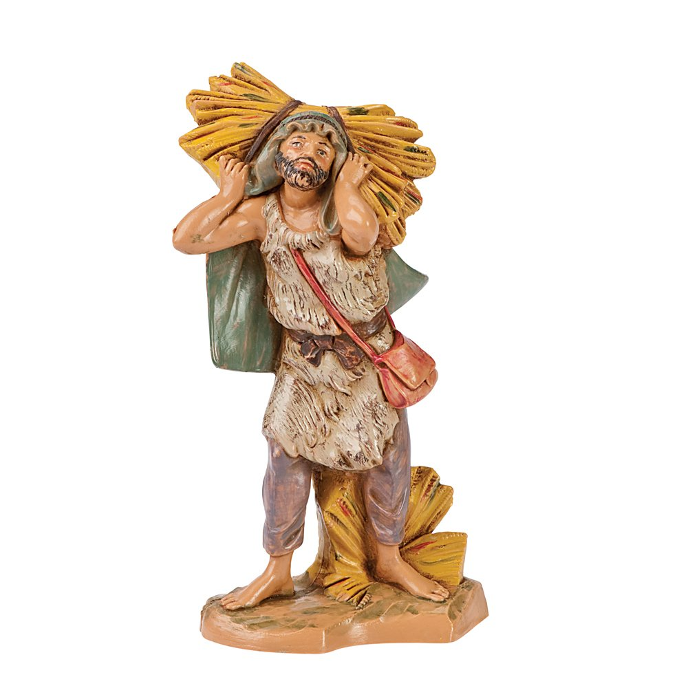 Fontanini 5-Inch John the Farmer of Bethlehem, Hand Painted 72692