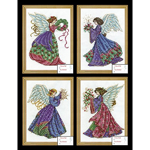 Design Works - Christmas Angels 5985-1 Counted Cross Stitch