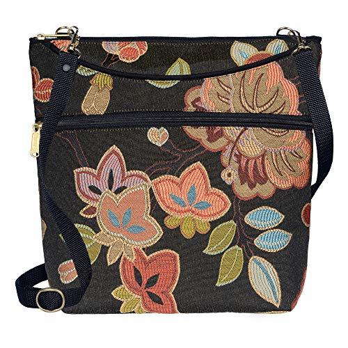 Danny K Women's Tapestry Bag Crossbody Handbag, Maggie Purse Handmade in the USA (Ginza)