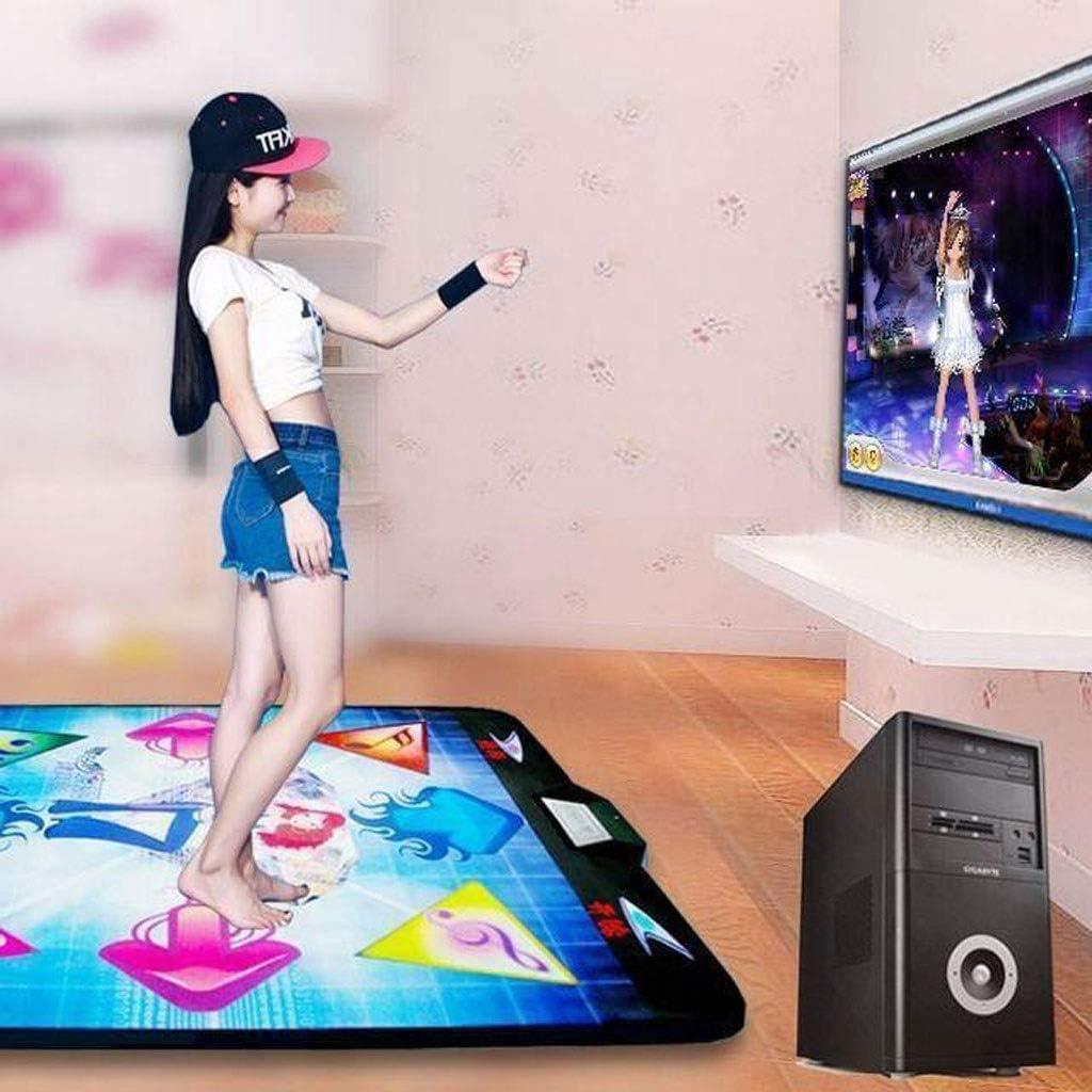 HSF Tanzen Decke TV Dedicated Einzel Wired Dancing Machine Start Weight Loss Somatosensory Lauf Spiel Fitness Blanket Tanzmatten (Color : D) B