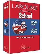 Diccionario school inglés español