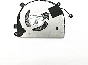 QUETTERLEE Replacement New Laptop CPU Cooling Fan for Dell Inspiron 5584 15-5584 Dell Latitude 3400 3500 Series 0T6RHW DFS5K12214161H FL82 DC5V 0.5A Fan