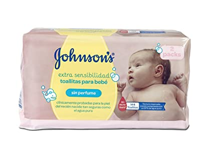 Johnsons Baby Toallitas Bebé Sensitive - 2 Pack