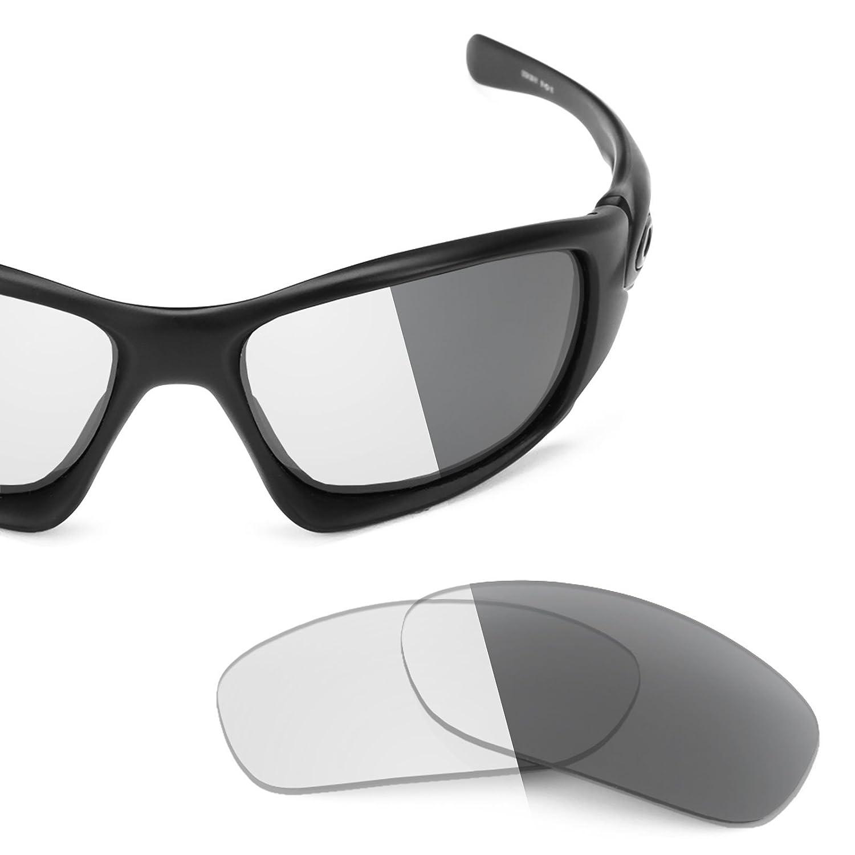 191c66b92f Revant Replacement Lenses for Oakley Ten Elite Adapt Grey Photochromic   Amazon.co.uk  Clothing