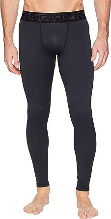 Under Armour Men's ColdGear Leggings, Black/Charcoal