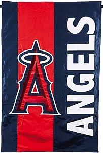 Rico Industries, Inc. Los Angeles Angels Embellished Premium 2-Sided Garden Flag Applique Banner