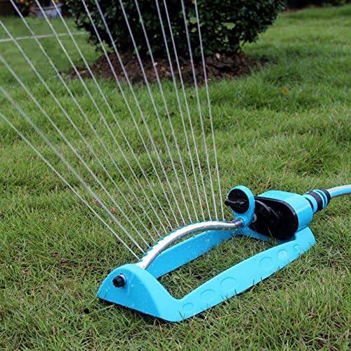 Nuevo jardín aspersores azul automático de riego de riego oscilante para Patio de efecto invernadero suministros agua mangueras herramientas.: Amazon.es: Jardín