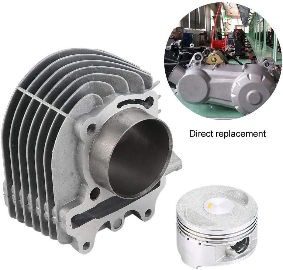 Juego de cilindro conjunto de junta de pist/ón de pist/ón del kit de cilindro de motocicleta Big Bore 61 mm para motor GY6 150CC 200CC