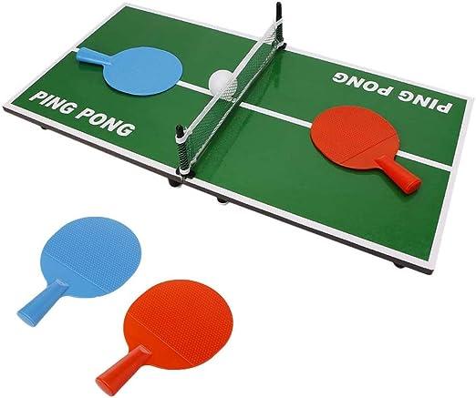 Kofun kindertag Regalos, Mini Desktop Tenis de Mesa juguete Ping ...