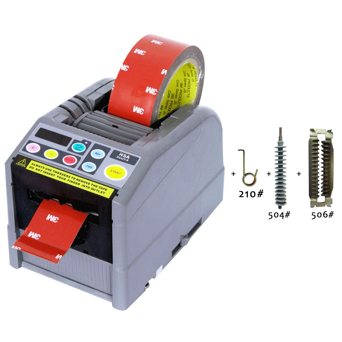 NSA ZCUT-9 Automatic Tape Dispenser Definite Length Up To 39 Inch length Tape and Suit for Many Kinds Tape Cutting/PCB Board 418#/419# Not Avaliable Of Normals In The Market/For Kinds Of Tape Cutting by NSA