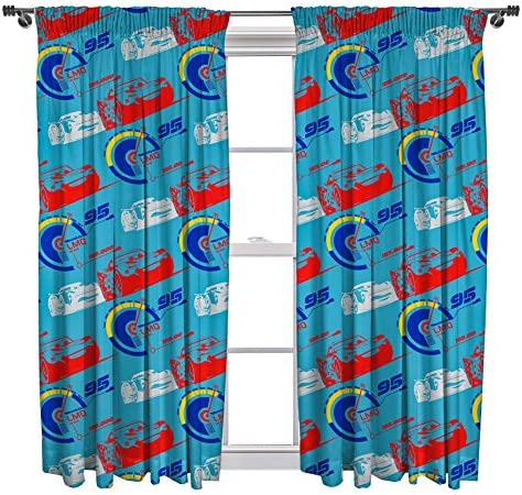 Cars 3 Lightning Curtains – 72 Inch