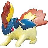 "Takara Tomy Pokemon Monster Collection Mini Figure - 1.5"" Quilava / Magmarashi (M-075) (Japanese Import) (japan import)"