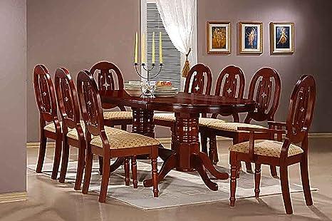 AyMa Home Moscow - Juego de Comedor con 6 sillas Laterales y ...