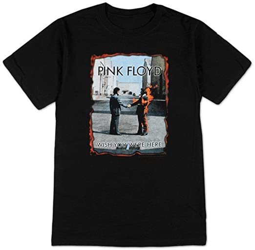 Amazon.com  Pink Floyd - Wish You Were Here (Burnt Edges) T-Shirt Size M   Sports   Outdoors 9cf63218d