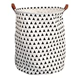 Amazon Price History for:Storage Bins, Canvas Storage Bags/ Baskets Nursery Toy Storage/ Toy Organizers Laundry Baskets/ Hampers (Small Triangles)
