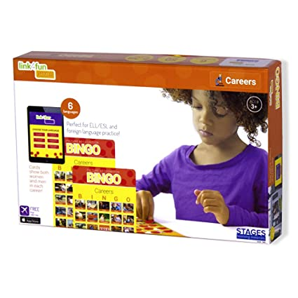 Buy Childrens Real-Life Picture Bingo Game - Careers Online at Low ...