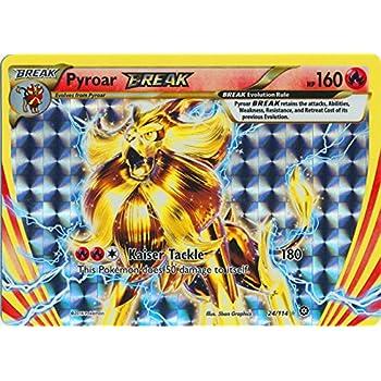 Pokemon - Pyroar BREAK (24/114) - XY Steam Siege - Holo