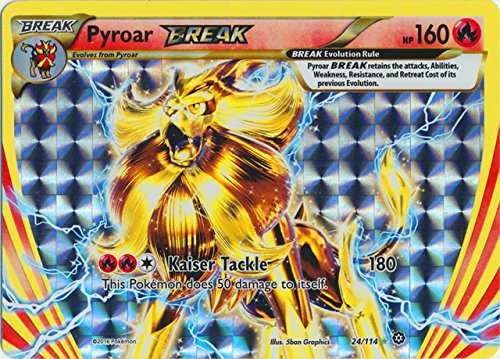 Pokemon - Pyroar Break (24/114) - XY Steam Siege - -