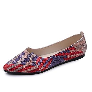 DENER Womens Ladies Girls Summer Flats Shoes 535dab088d98