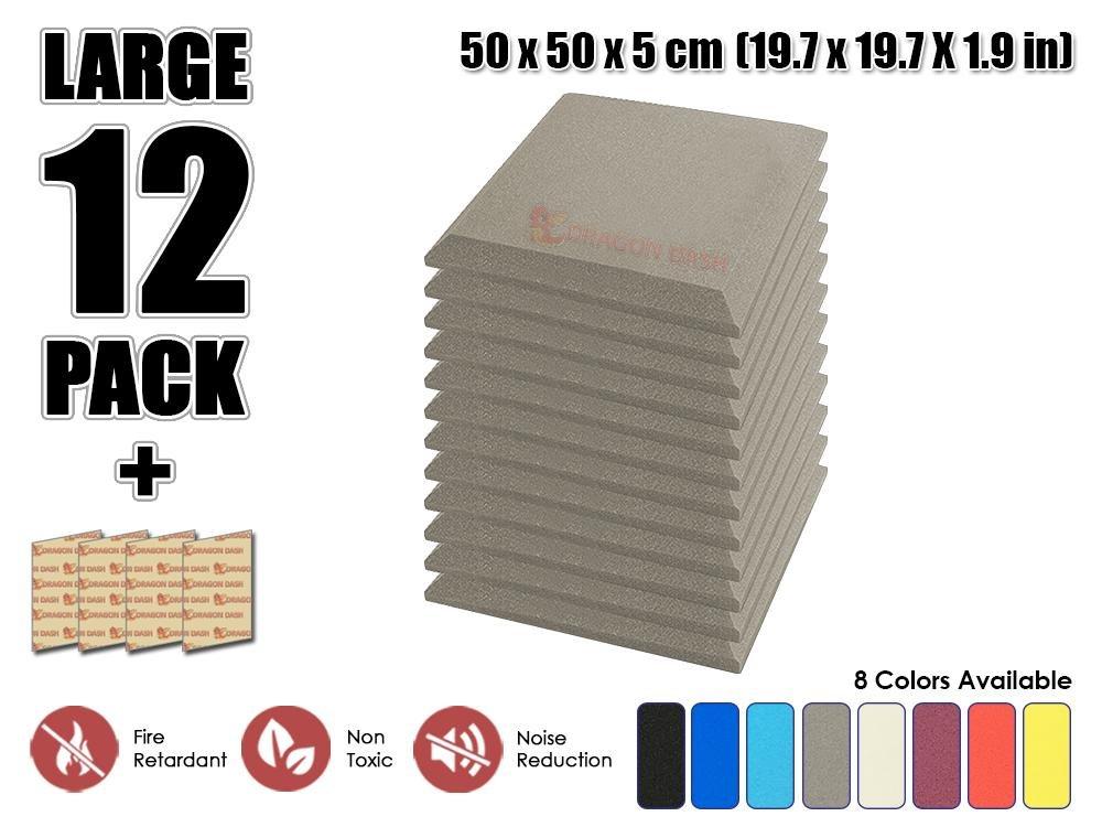 Super dash pacco da 12 di 50 x 50 x 5 cm giallo angolo