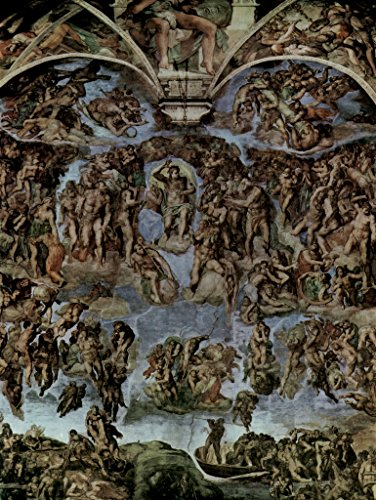 Lais Jigsaw Michelangelo Buonarroti - The Last Judgment, Fresco on The Altar Wall of The Sistine Chapel, General View 1000 Pieces ()