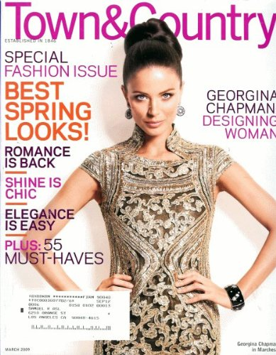 Town & Country 2009 March - Georgina Chapman (50s Makeup And Hair)