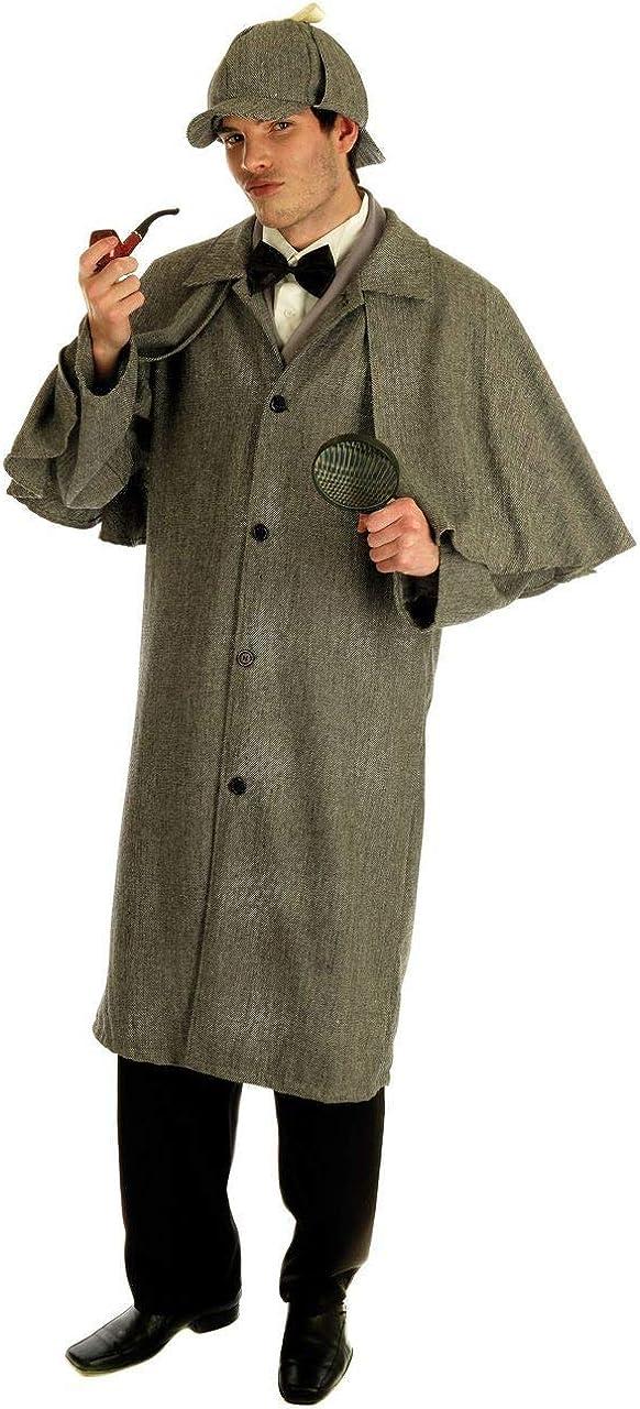 Fancy Me Hombre Sherlock Holmes Disfraz – 1020er años Victorian ...