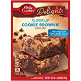 Betty Crocker Baking Cookie Brownie Bar, 19.5 Ounce Boxes