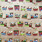 Jillson & Roberts Gift Wrap, Christmas Train (6 Jumbo Rolls 10ft x 30in)