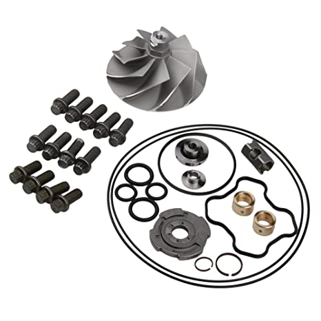 Amazon Com 7 3 Turbo Rebuild Kit Banks Compressor Wheel Upgraded